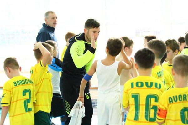 """C.S. Atletic Strășeni a.n. 2010  s-a clasat pe locul al 2-lea la """"Junior Futsal Cup Moldova 2018""""."""