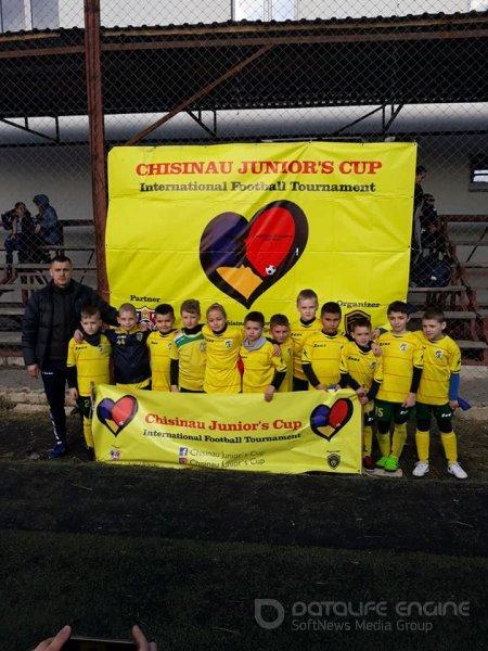 Atletic  a.n.2011 locul  2 Chișinău Juniors Cup 2019