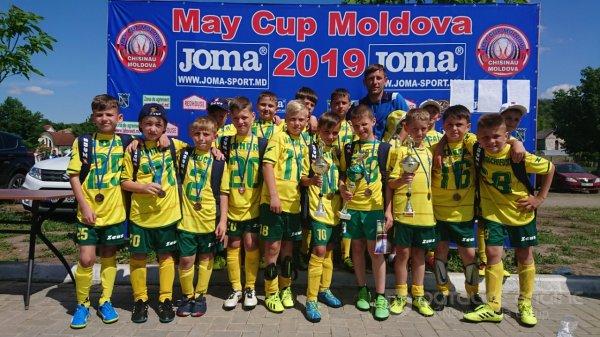 Locul 3 la May Cup Moldova 2019