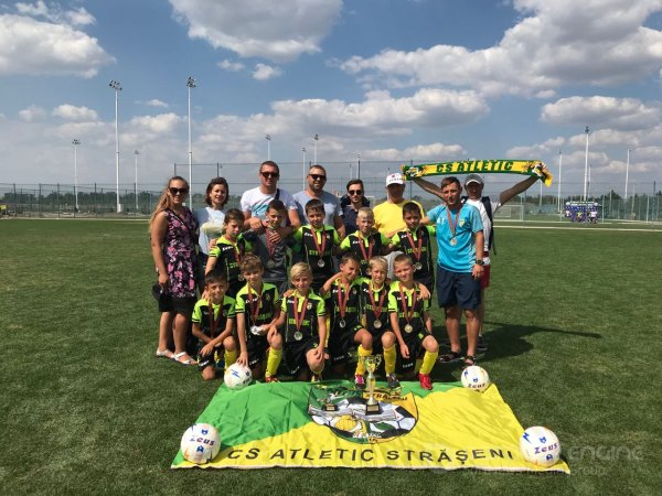 Atletic a.n.2009 locul 2 la August Cup Sheriff 2019