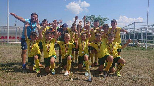 CS Atletic Strășeni locul 2 la Turneul